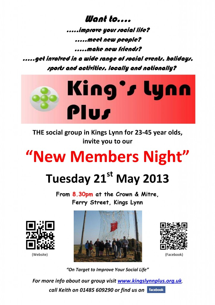 new members night poster1